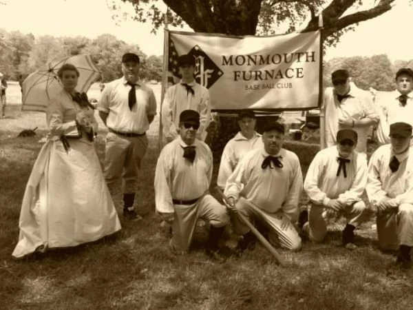 Vintage Base Ball – The Original American Sport with Monmouth Furnace